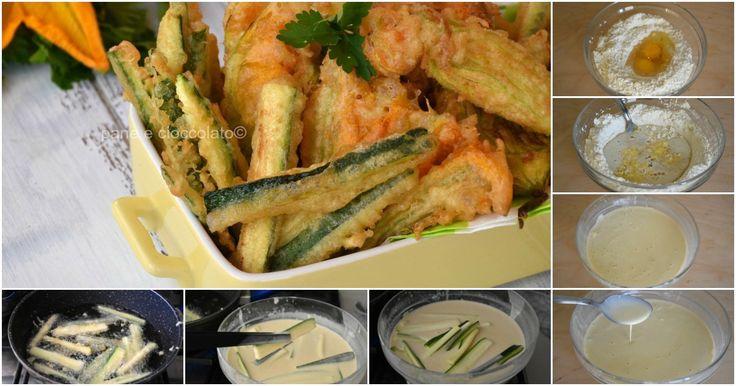Zucchine+in+pastella+con+Ricetta+pastella+leggera