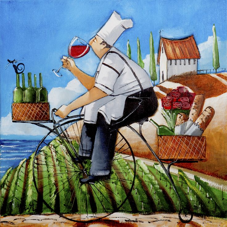 Chefs delivery by Ronald West
