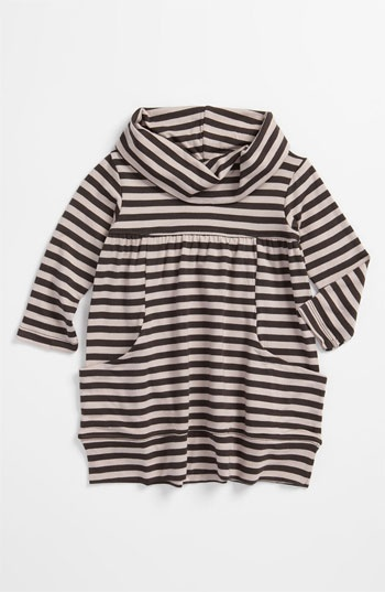 United Colors of Benetton Kids Stripe Cowl Neck Dress (Infant) | Nordstrom