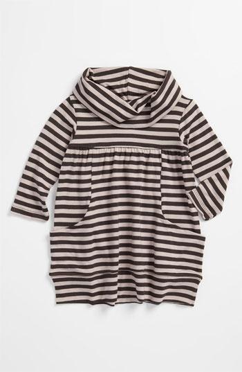 United Colors of Benetton Kids Stripe Cowl Neck Dress (Infant)   Nordstrom