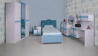 Yalın Mavi Genç Odası  | 3050,0 TL