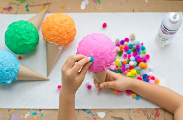 hello, Wonderful - DIY PRETEND PLAY ICE CREAM CONES