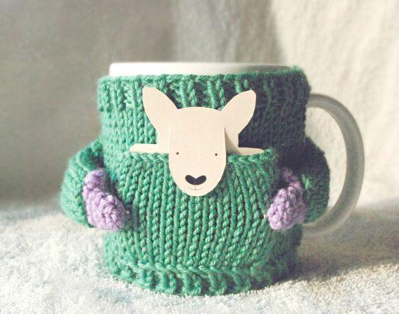 Canguro taza suéter, menta verde