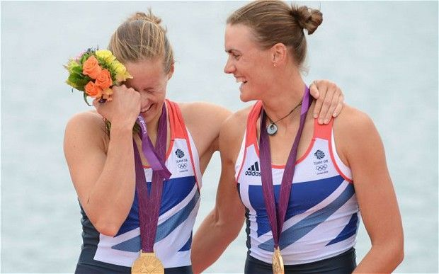 Olympic rowing: Helen Glover and Heather Stanning secure Britain's first gold at London 2012 - Telegraph