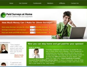 Paid Surveys at home, how to make money at home with surveys www.fairedelargents…