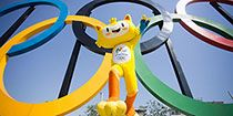"""Summer Olympic Games 2016 - Vinicius, Official Mascof of Rio 2016, Vinicius des Moraes, the mascot for the Olympic Games Rio 2016 constitutes a blend of animals native to Brazil, and symbolises the energy and joie de vivre exuded by the Brazilian people. """"Allow me to introduce myself: I'm Vinicius, the mascot for the Rio 2016 Olympic Games. I'm a mix of all of the different animals found in Brazil. I was born out of the explosion of joy."""