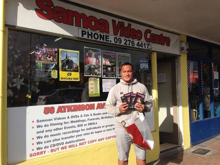 Samoa Video Centre | Samoa Pages #SAmoanMovies SamoanDVDs