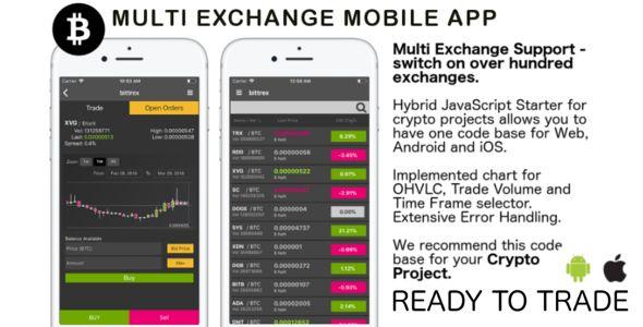 Exchange Crypto Javascript Hybrid