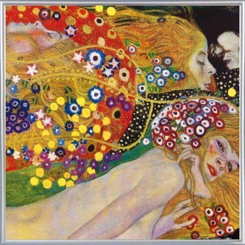 Gustav Klimt -Vienna Secession & Art Nouveau - Detail
