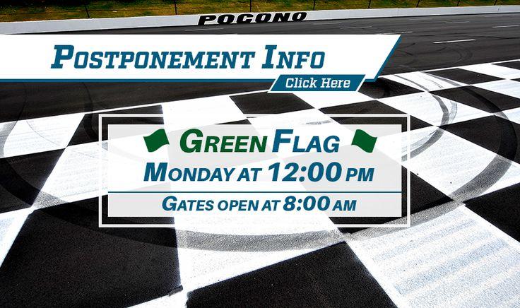 NASCAR Race Mom: Pocono Raceway - Monday Race Schedule Update