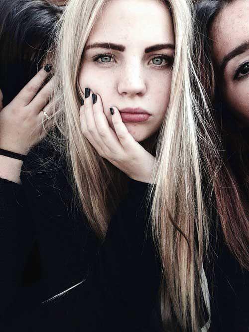 50 #cabelos #loiros #claros. A grande #trend para esse ano, vem saber como conseguir essa linda #cordecabelo! #salaovirtual