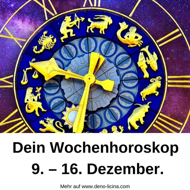 Dein Wochenhoroskop vom 9. - 16. Dezember.   Tageshoroskop