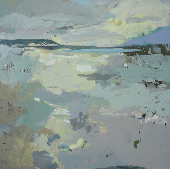 Rebecca Allan, Landscape Painter, Environmental Artist, Watersheds