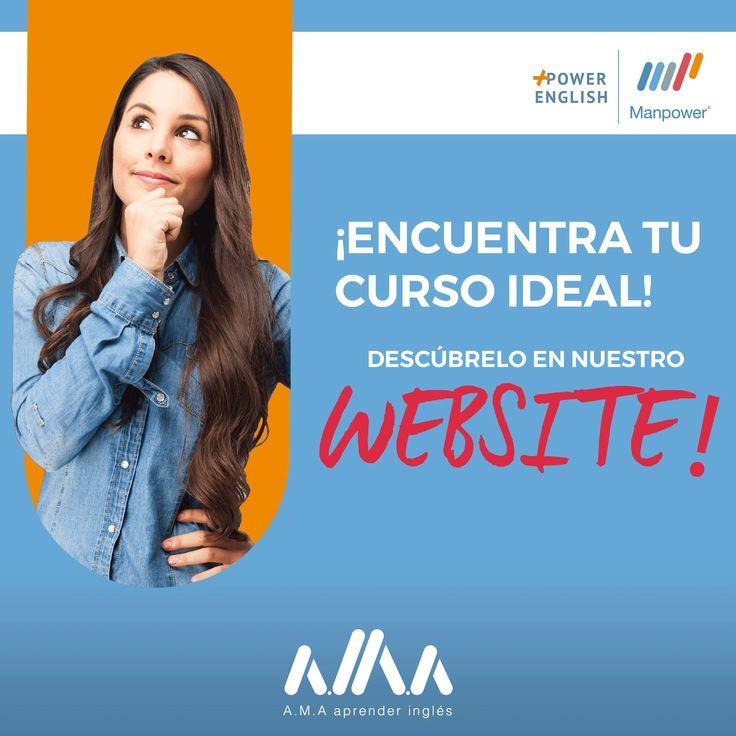 Ya estamos #Online!✅😮¡Visita nuestro #WebSite y descubre el curso adecuado para ti!📚👉 https://goo.gl/KtLcmN