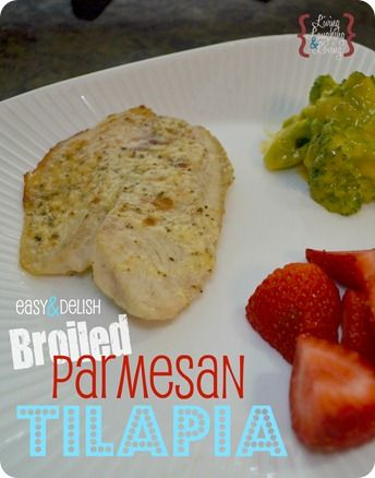 Broiled Parmesan Tilapia!: Fish Seafood, Seafood Recipes, Maine Dishes, Broiled Parmesan, Fish Recipes, Easy Parmesan, Parmesan Tilapia, Easy Broil, Broil Parmesan