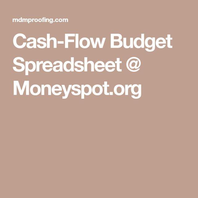 Peter Allen (pallen12145) on Pinterest - budget cash flow spreadsheet