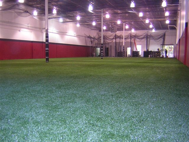 Easyturf indoor batting cage and high performance training for Design indoor baseball facility