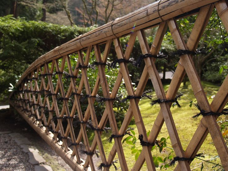 The 21 best images about Bamboo Fence Ideas on Pinterest Gardens