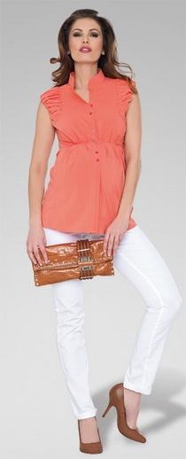Lottie Apricot Shirt