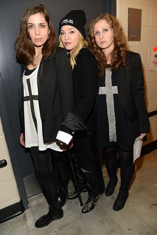 Madonna Nadya Tolokonnikova Maria Alyokhina Pussy Riot Amnesty International
