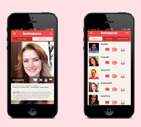 First mobile dating app