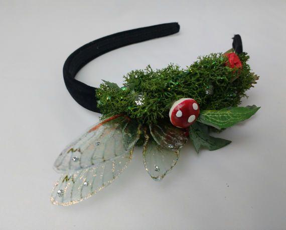 The secret garden Fairy Alice band fae hair decoration Fairy