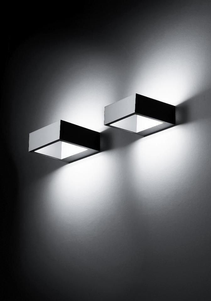 """Cool Square"" wall lamp 