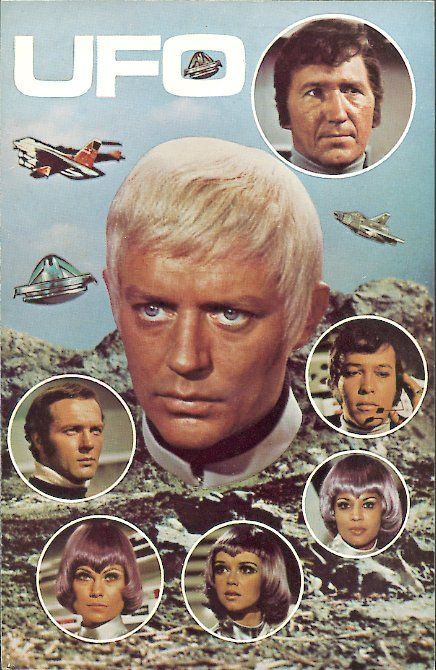 TV Series UFO 1970 | UFO Promotional Card: Here is a 104 x 147 mm UFOpromotional card ...