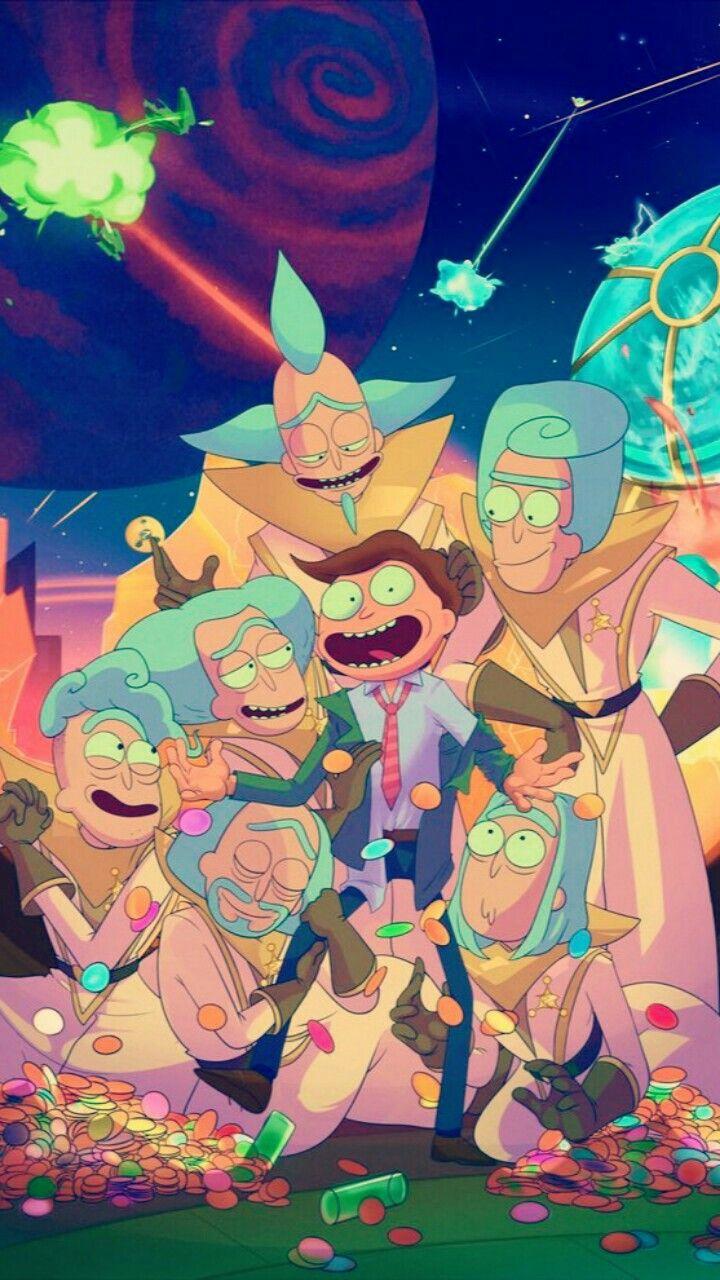 Imagen Sobre Rick Y De Falka Saovine En Rick Y Morty Rick Y