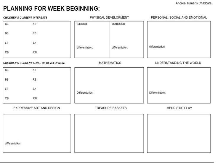 3005.short-term-planning-page-1.jpg 960×720 pixels | Nursery eyfs ...