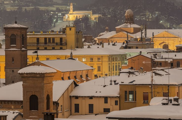 Bologna under the snow. by Marco Albonetti on 500px
