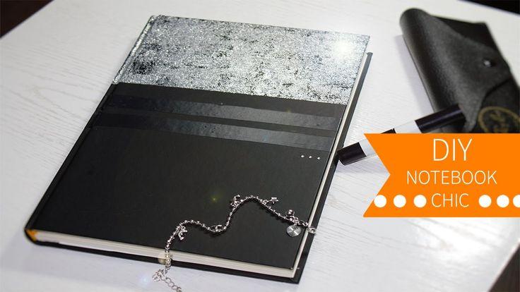 DIY Notebook ≼ Chic ≽ Agenda personalizzata #diynotebook #chic #brillante