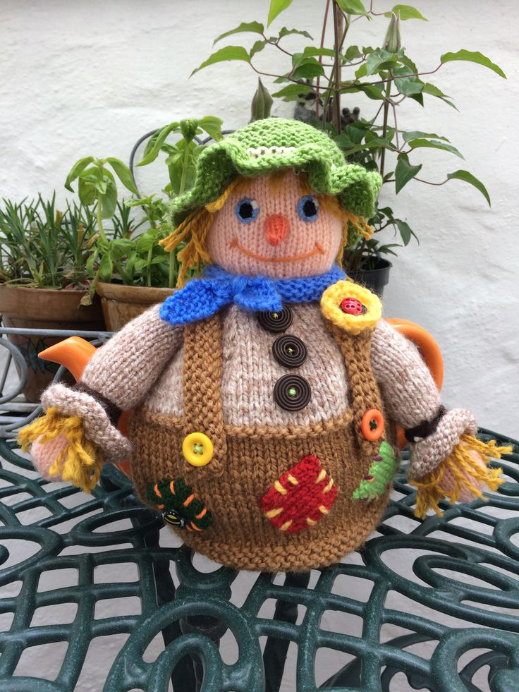 It's a scarecrow!
