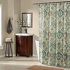 image of Ali Baba Shower Curtain in Teal