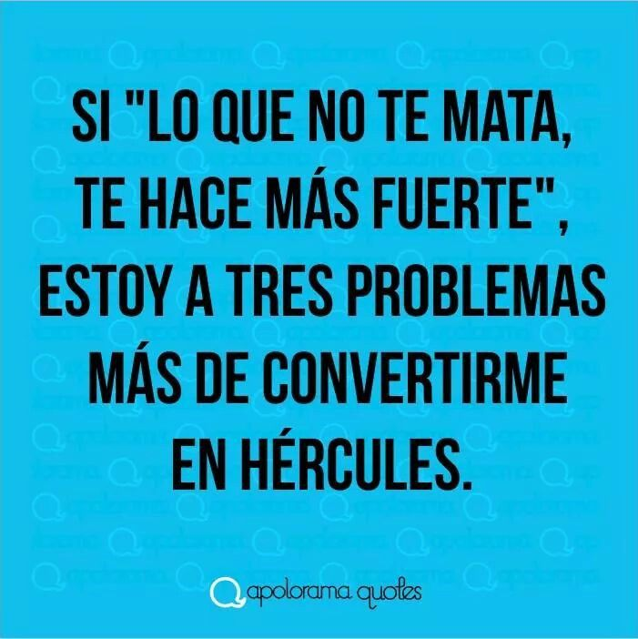 Estoy a punto de convertirme en Hercules.!