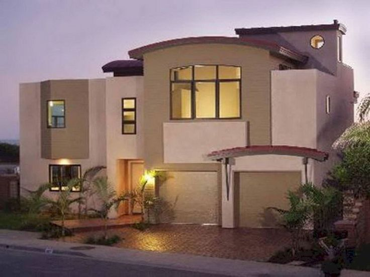 Astounding 24 Pretty Home With White And Brown House Exterior Combination That You Have To Try https://24spaces.com/home-apartment/24-pretty-home-with-white-and-brown-house-exterior-combination-that-you-have-to-try/