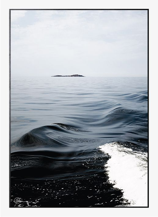 Waves by by Johanna Lehtinen | Poster from theposterclub.com