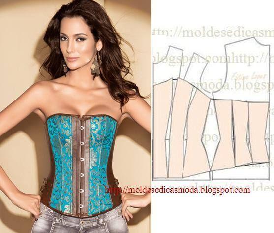 molde corselet
