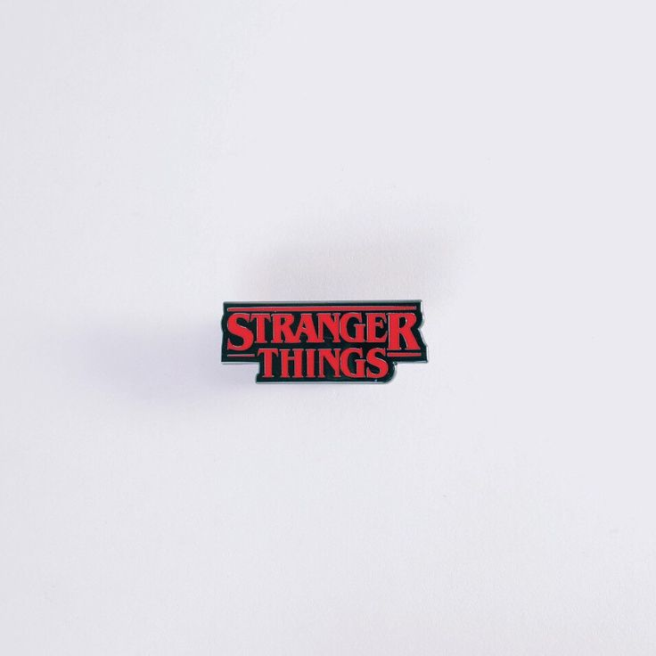 Stranger Things Pin by NERDPINS on Etsy https://www.etsy.com/listing/459905802/stranger-things-pin