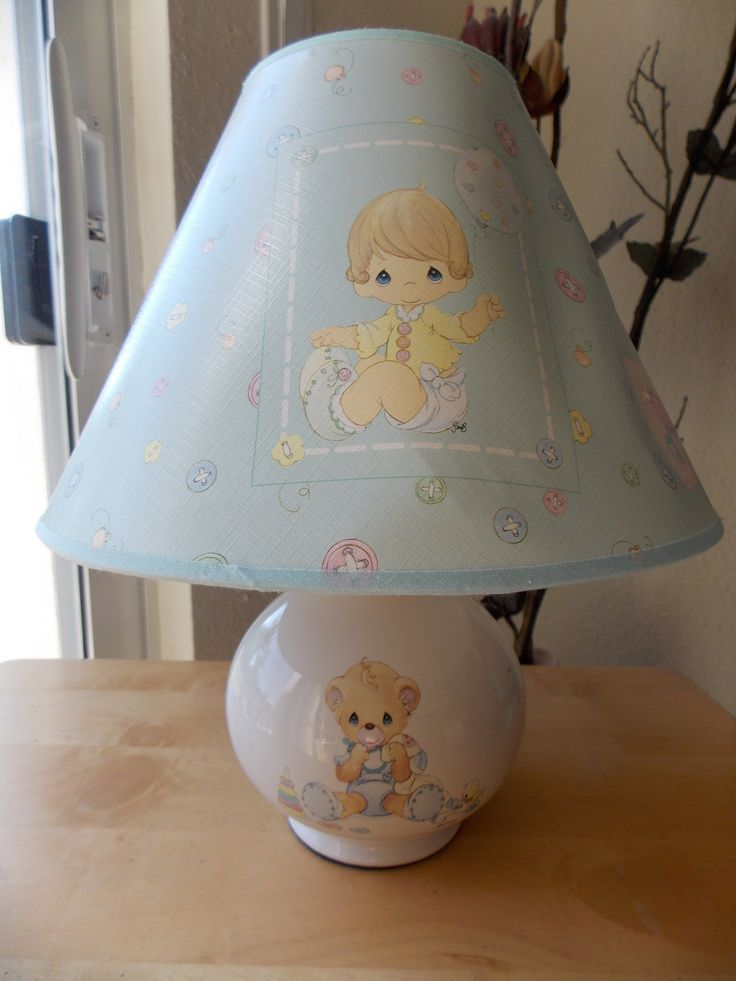 Precious Moments Baby Nursery Lamp