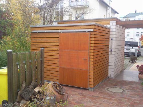 Zimmerei Witt - Gartenhäuser / Geräteschuppen