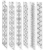 Resultado de imagen de bobbin lace making patterns for beginners More