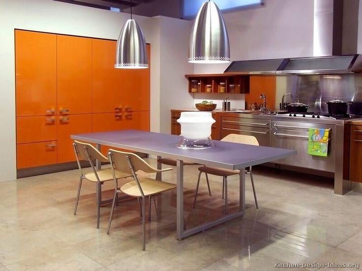 Orange Modern Kitchen top 25+ best orange cabinets ideas on pinterest | orange kitchen