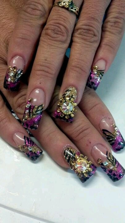 25 best ideas about sinaloa nails on pinterest nail for 3d nail art salon new jersey