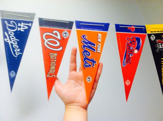 Major League Baseball Pennant Banner By Oldendesigns 5000nastocks820