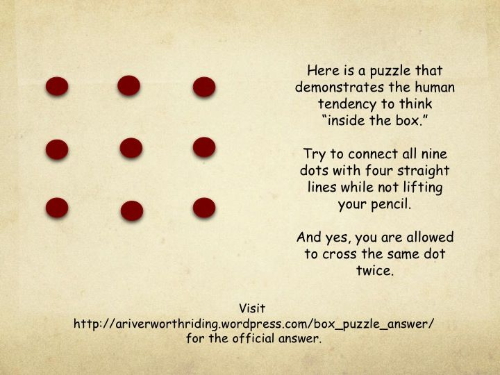 A Puzzle for your enjoyment.