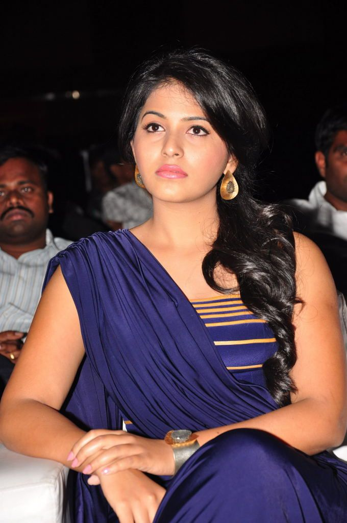 anjali latest in blue