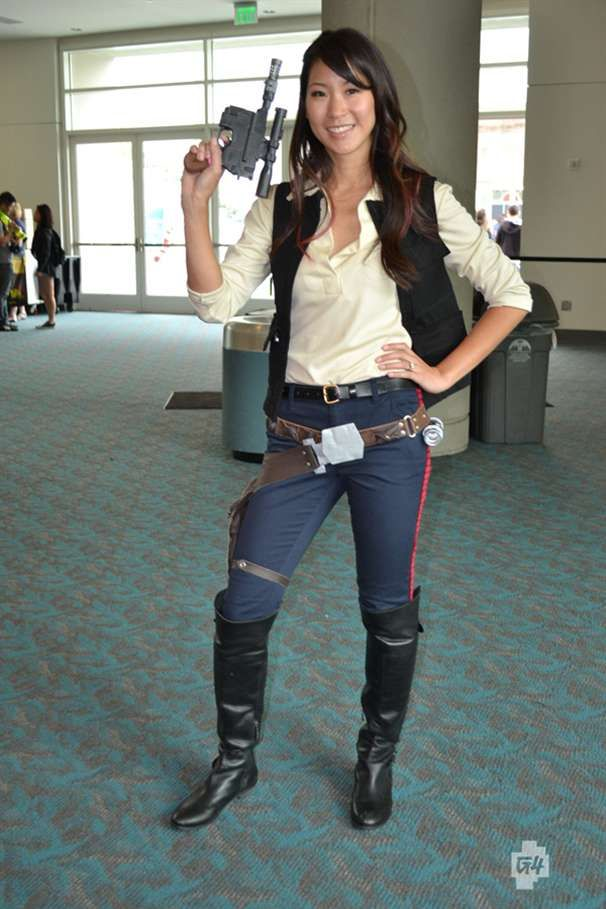 Fashion and Action: This Han Solo is My Favorite Costume from SDCC 2012