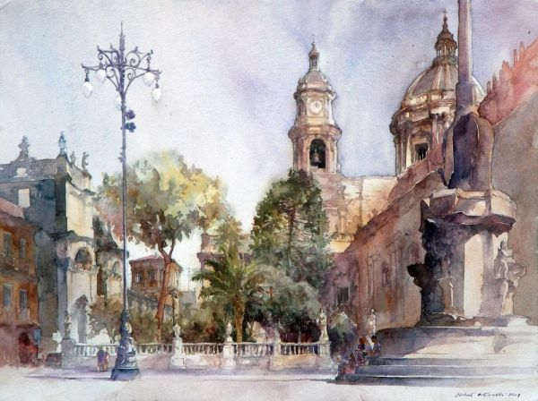 Мишель Орловски - Собор Сан-Джорджио, Модика, Сицилия