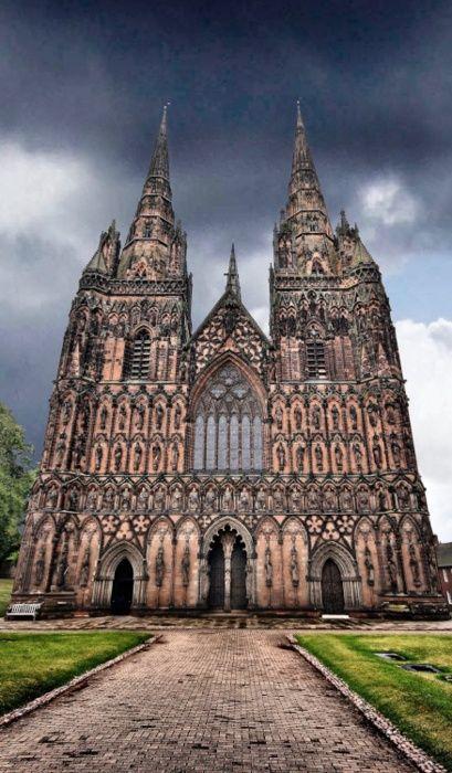 Lichfield Cathedral, Lichfield -  Staffordshire